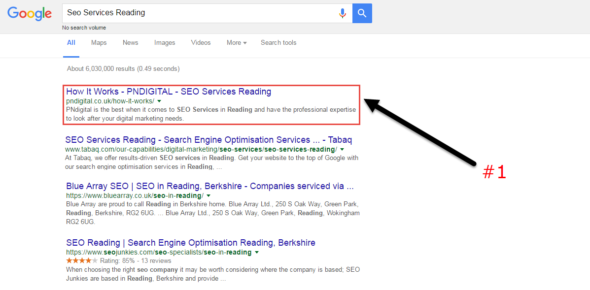 how to be on top in google search engine