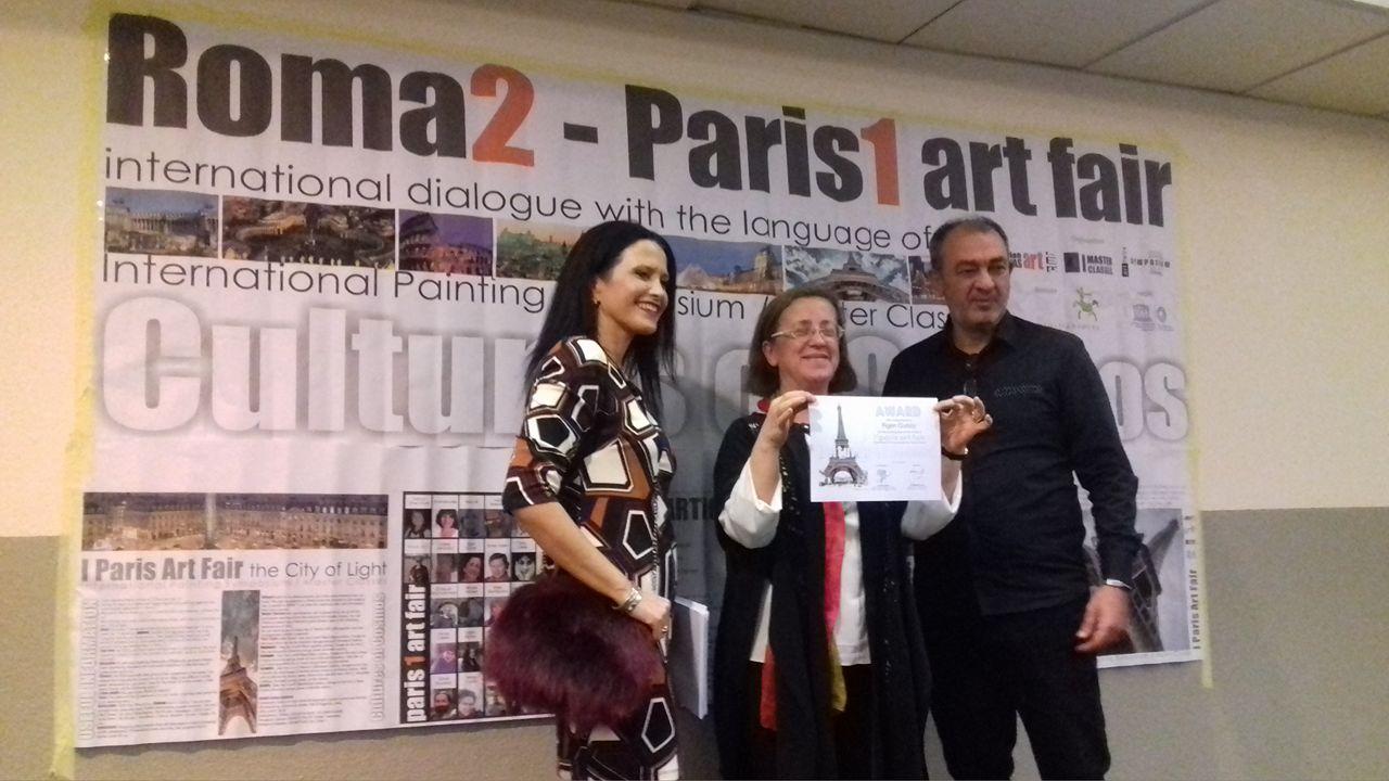 Paris Art Fair, 2016.