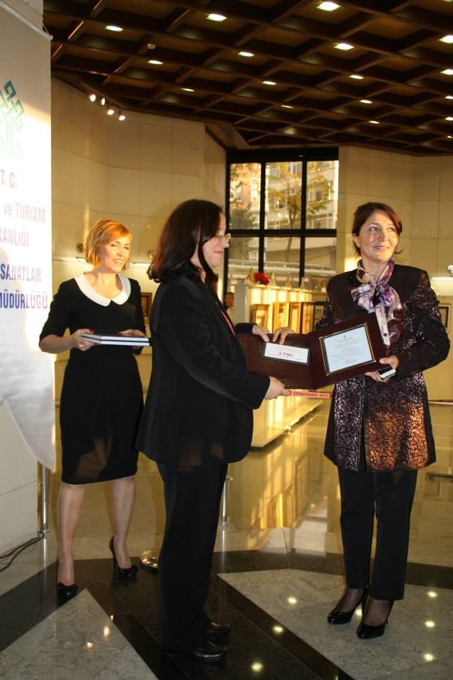 Kültür Bakanlığı Ödül Töreni, 2013