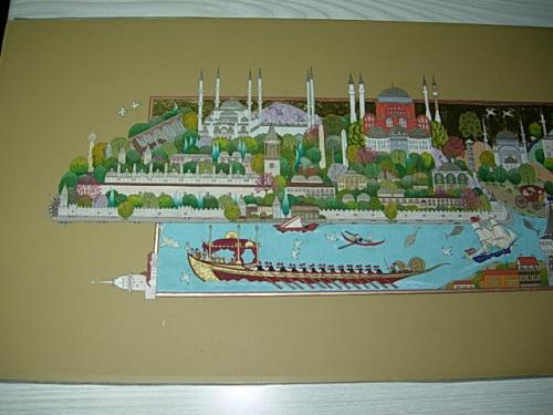 1. PARÇA - YEDİTEPE İSTANBUL…SİLUETE SAYGI….(2010) Minyatür, Özgün tasarım