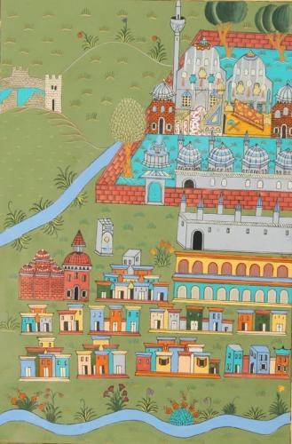 Seyitgazi - Matrakçı Nasuh -Beyanı Menazili Irakeyn Sultan Süleyman Han--Reprodüksiyon-