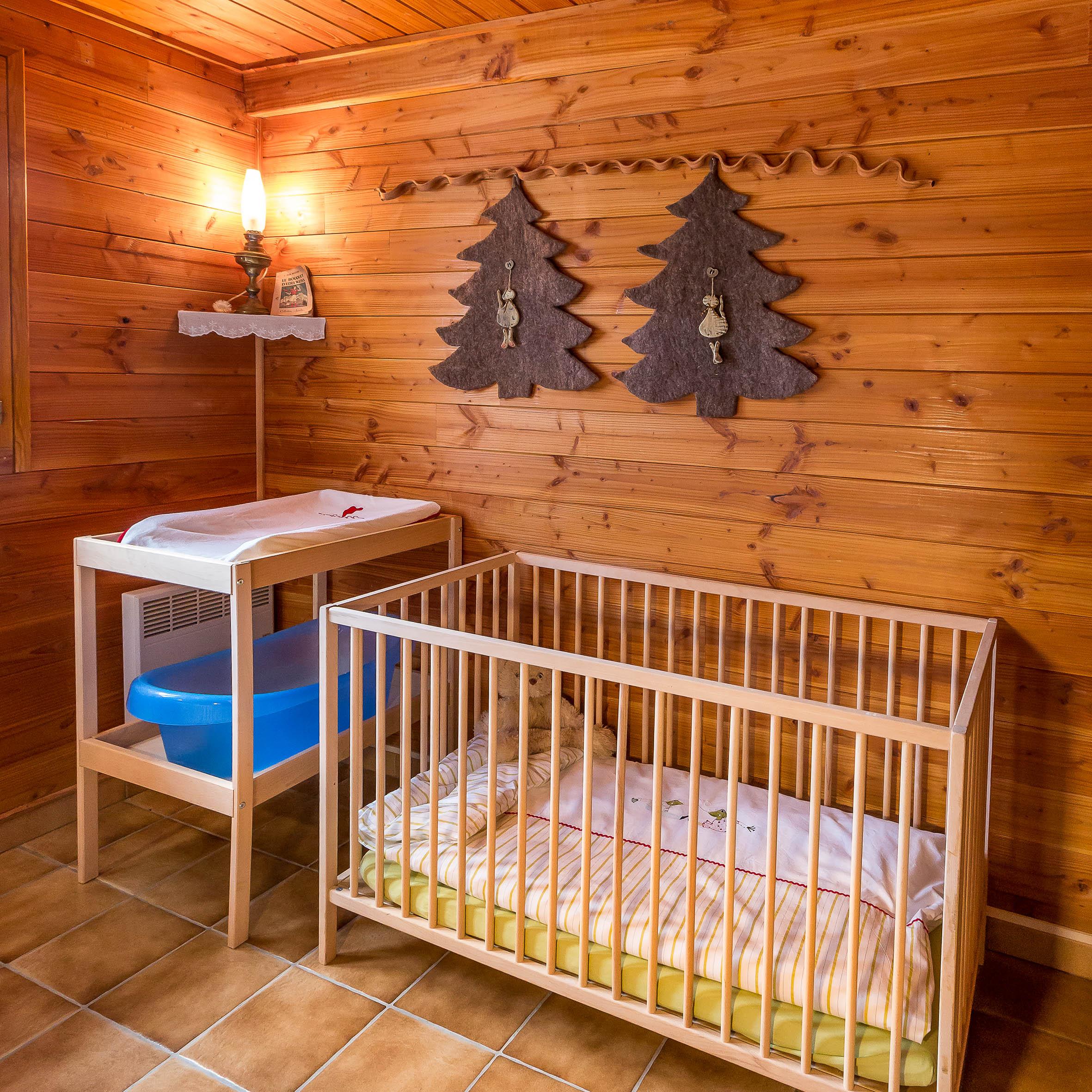 Chalet Carpe Diem - Équipement bébé disponible sans supplément