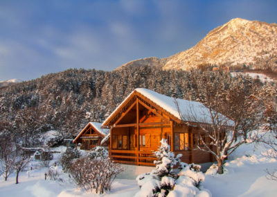 Chalet Carpe Diem en hiver