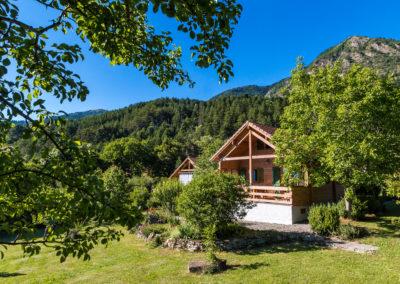 Chalet Carpe Diem, the accommodation in summer
