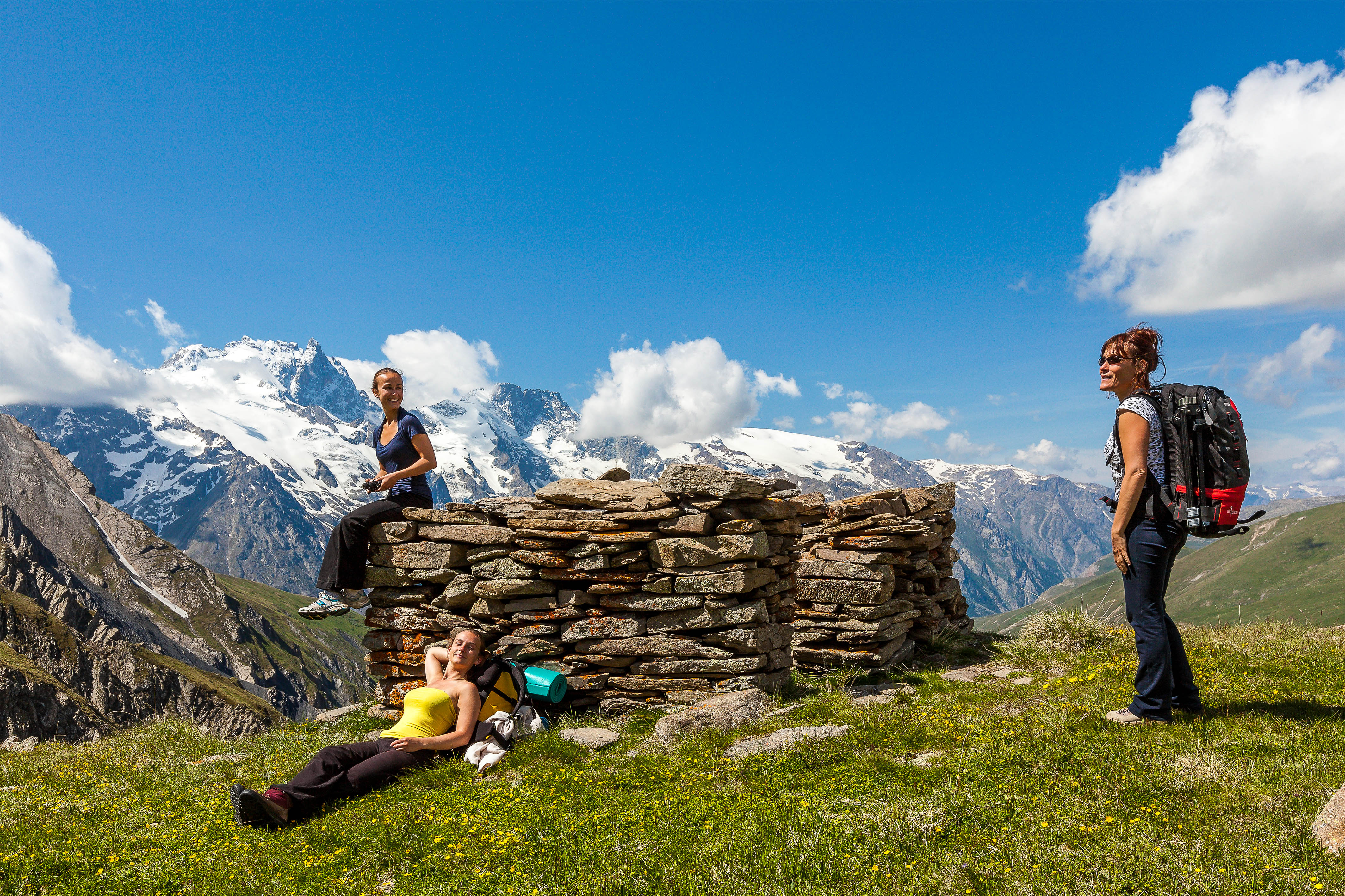Hiking in the French Alps near Chalet Carpe Diem