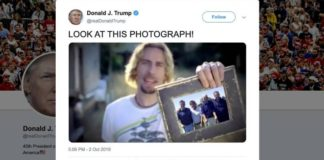 Nickelback Trump's Tweet