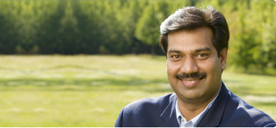 Image of Amitabh Srivastava, regional head for South Asia of the Association for International Broadcasting (AIB)