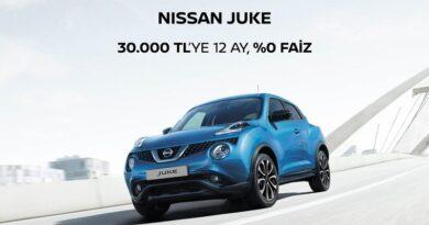 Nissan Juke sıfır faiz fırsatı