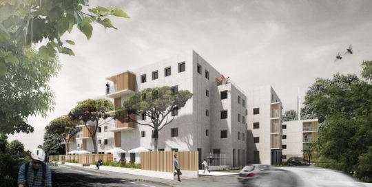 Test d'étanchéité à l'air de logements collectifs à Toulouse