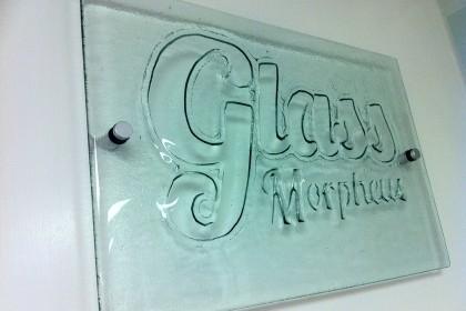 Morpheus Glass Sign