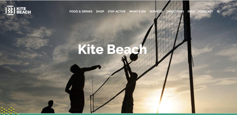 kite beach website