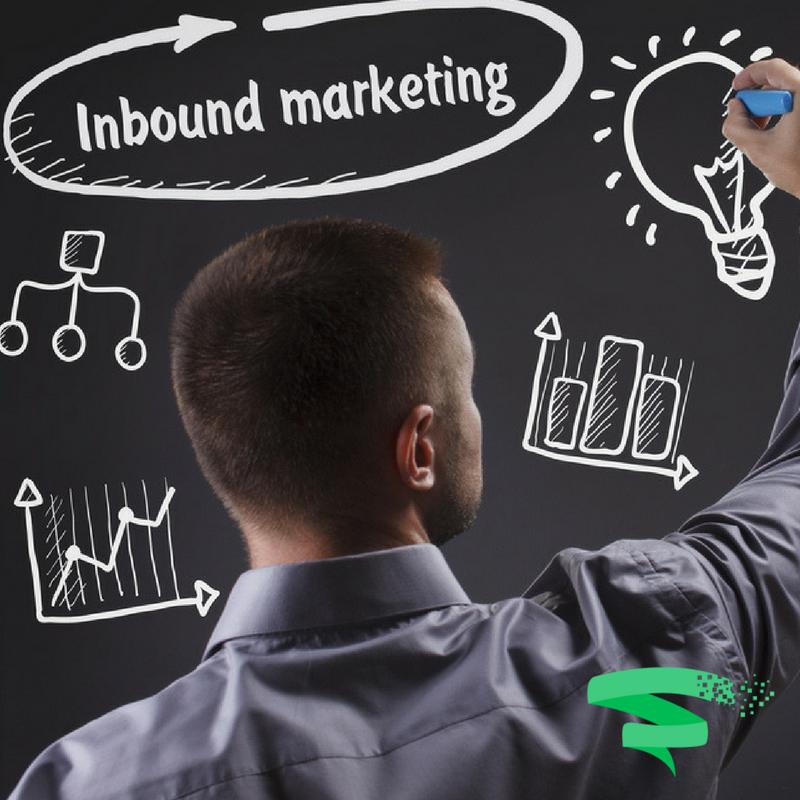 Man writing on board - Inbound Marketing Plan