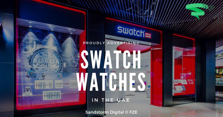swatch shop uae