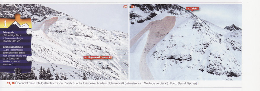 Wöster avalanche accident- Lech
