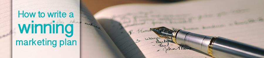 How to write a winning marketing plan