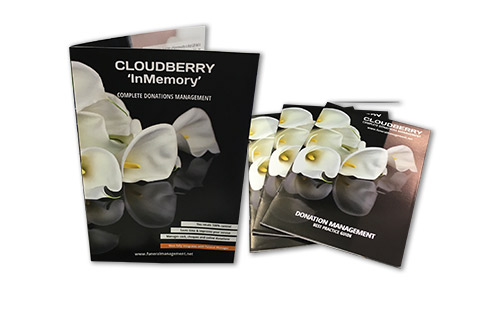 Cloudberry Funeral Management Solutions -brochures