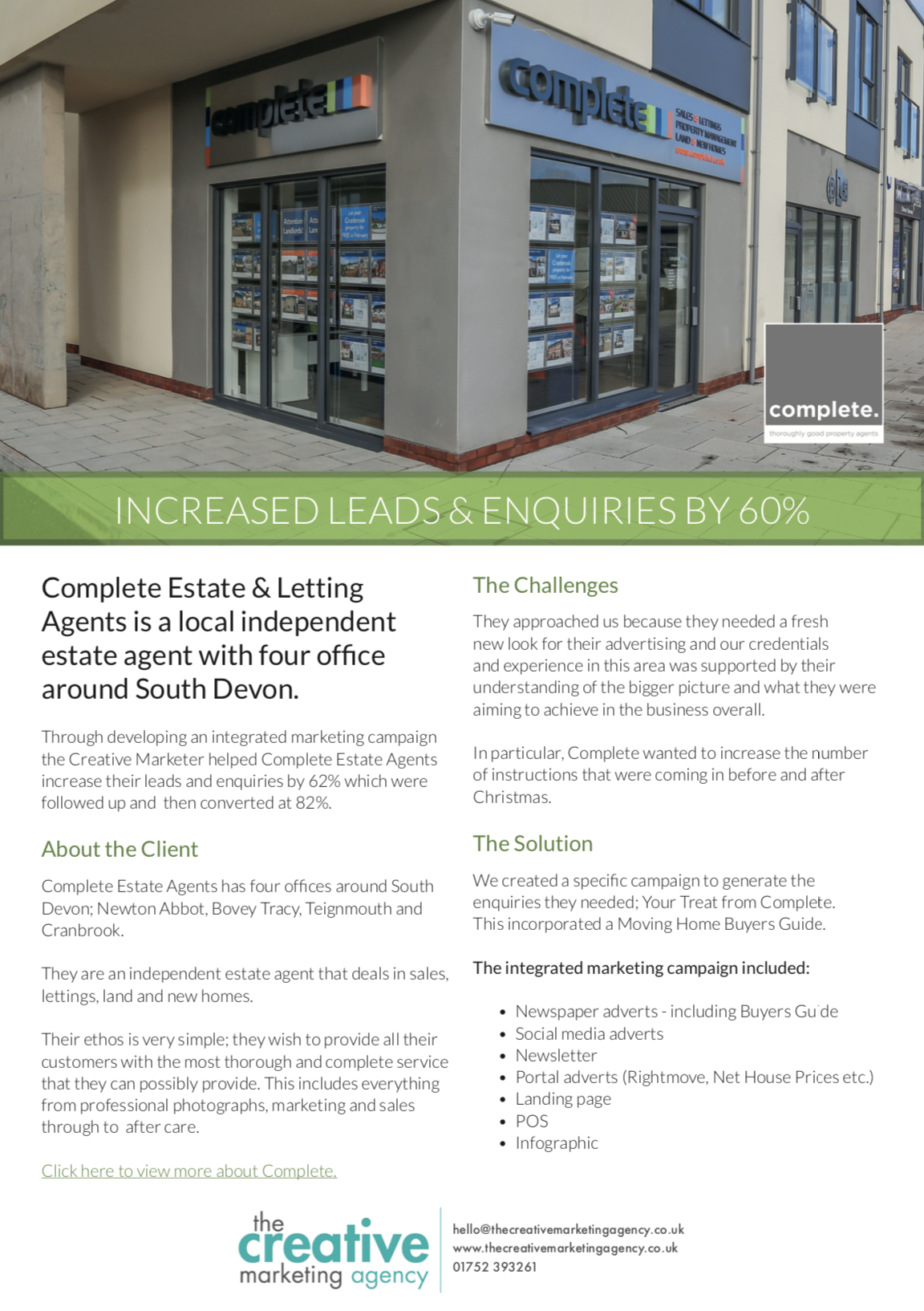 Complete Estate Agents Marketing