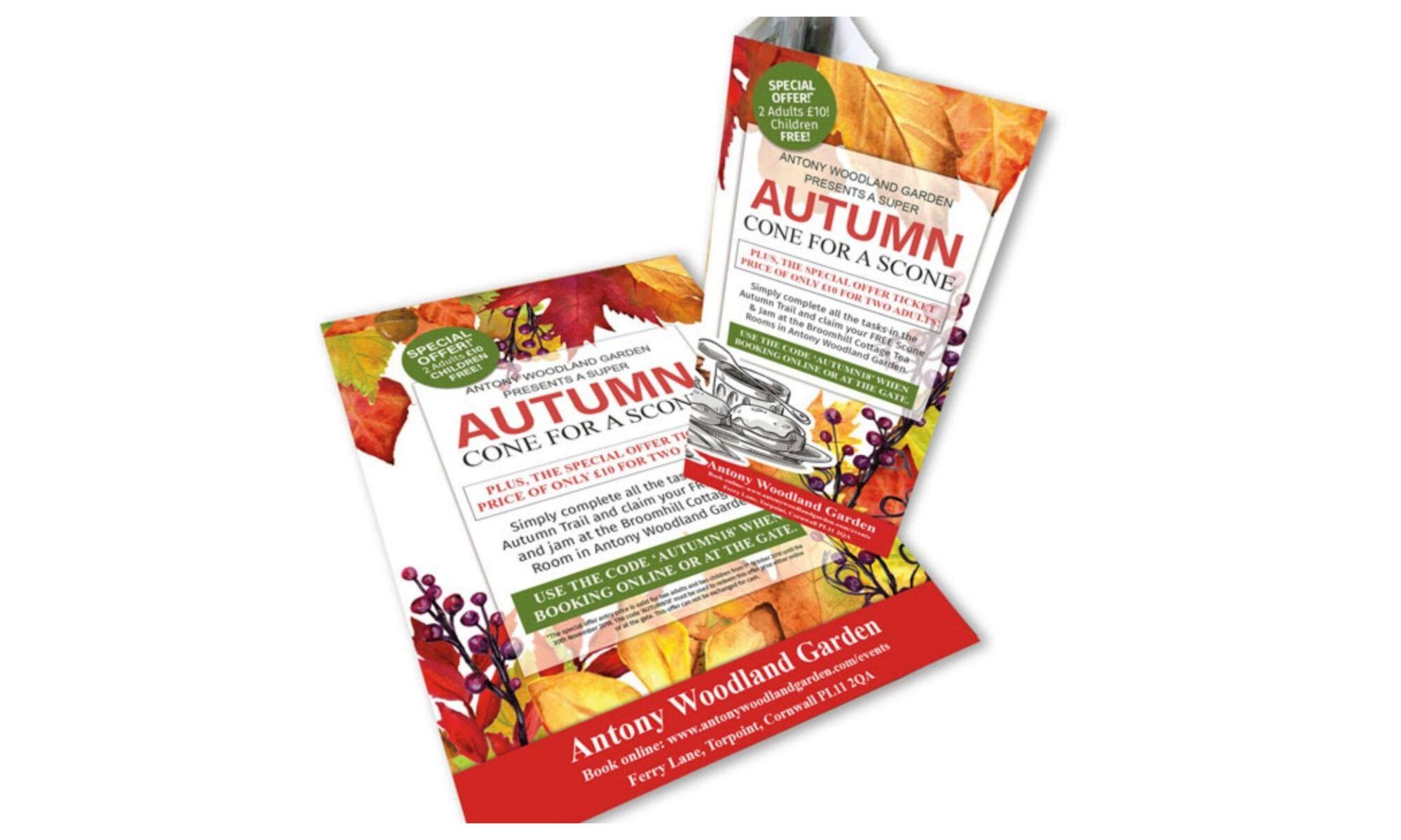 Antony Woodland Garden Autumn Leaflet
