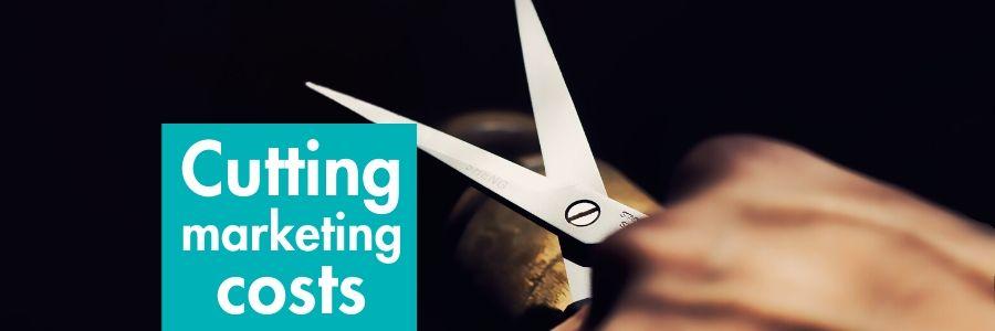 Cutting marketing costs