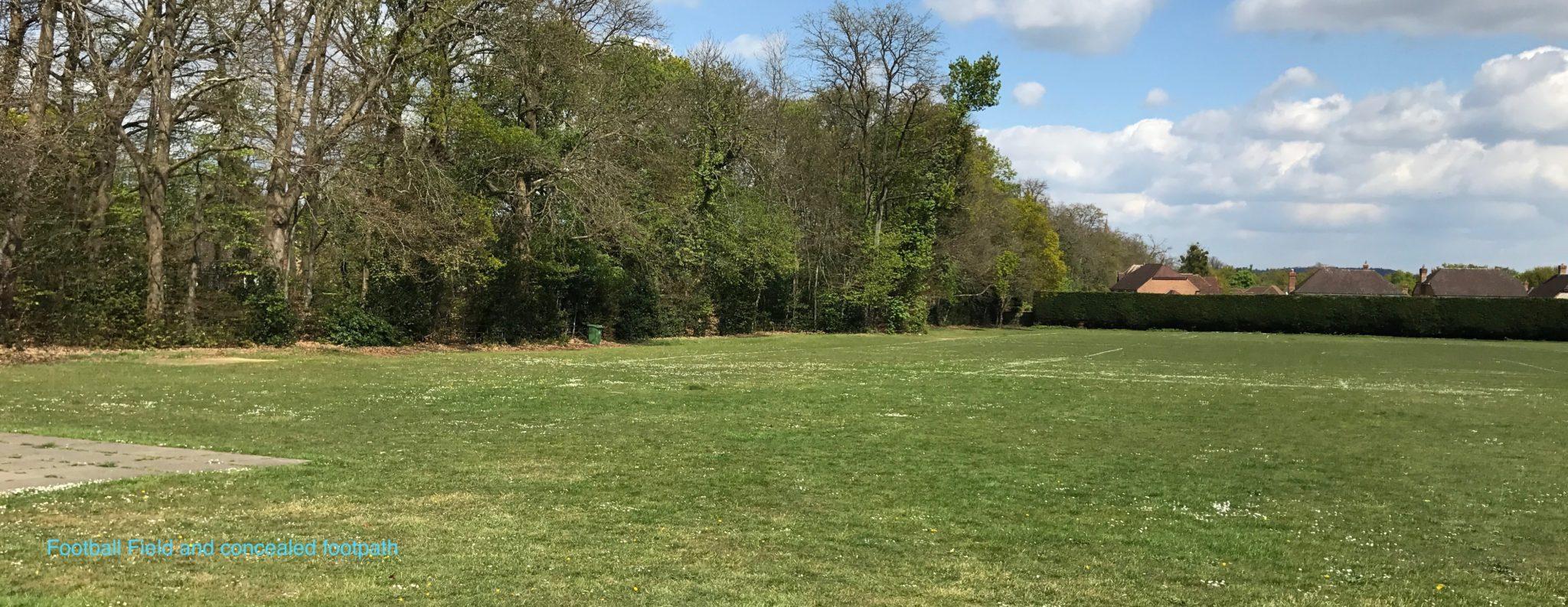 Football field at Bagshot