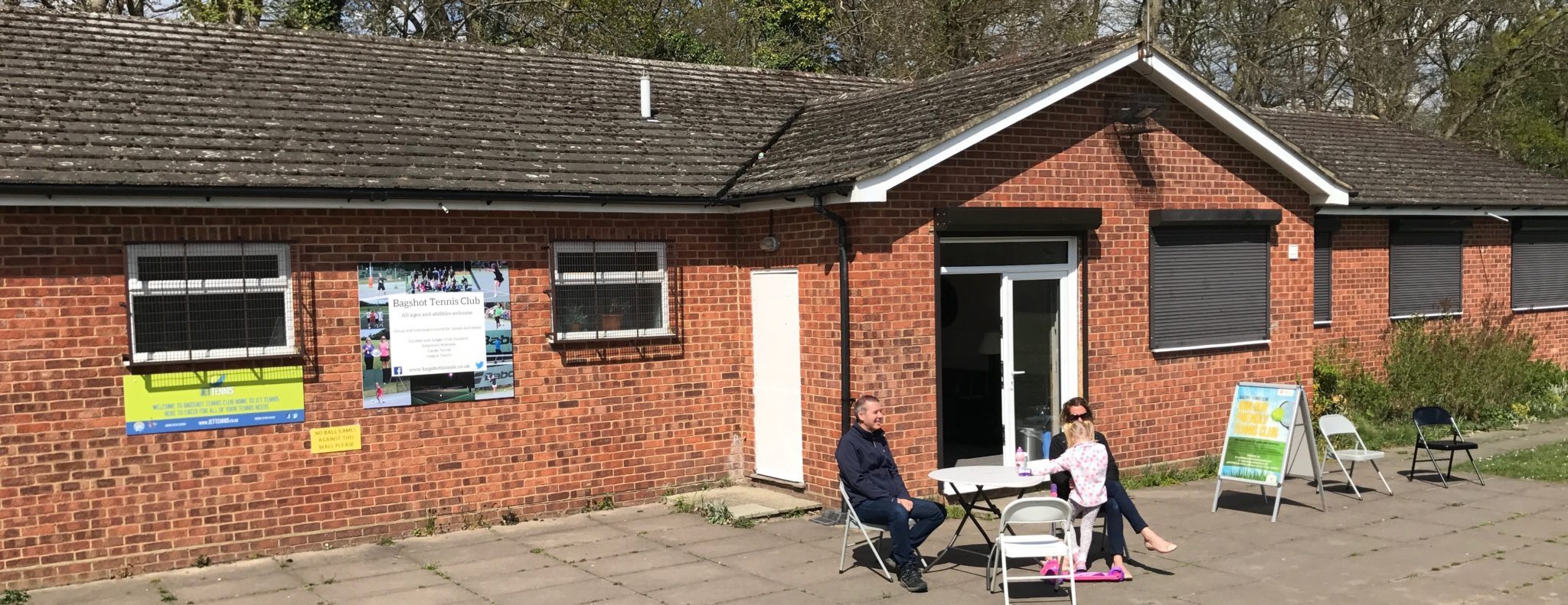 Outside space at Bagshot playing fields