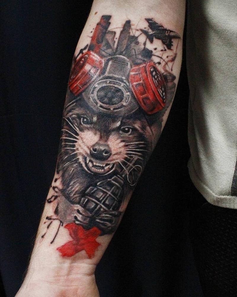 trash polka tattoos MARIA BOG 1 - Trash Polka Tattoo Art