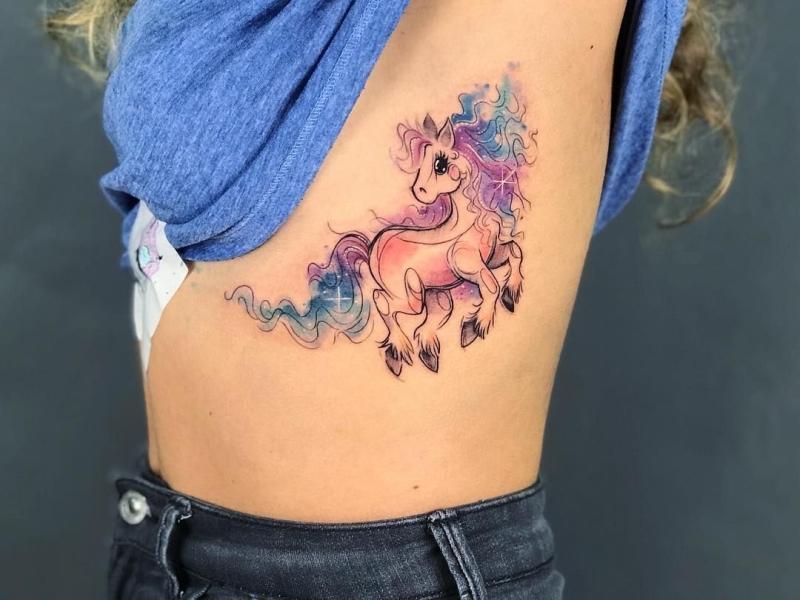 cute watercolor tattoo ideas