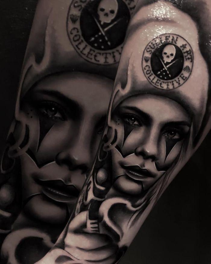 Dia de los Muertos tattoo