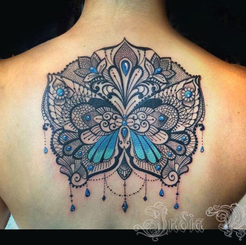 lace tattoo designs