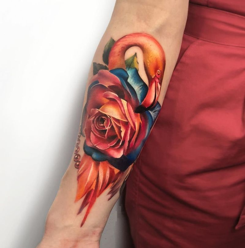 rose tattoos for women