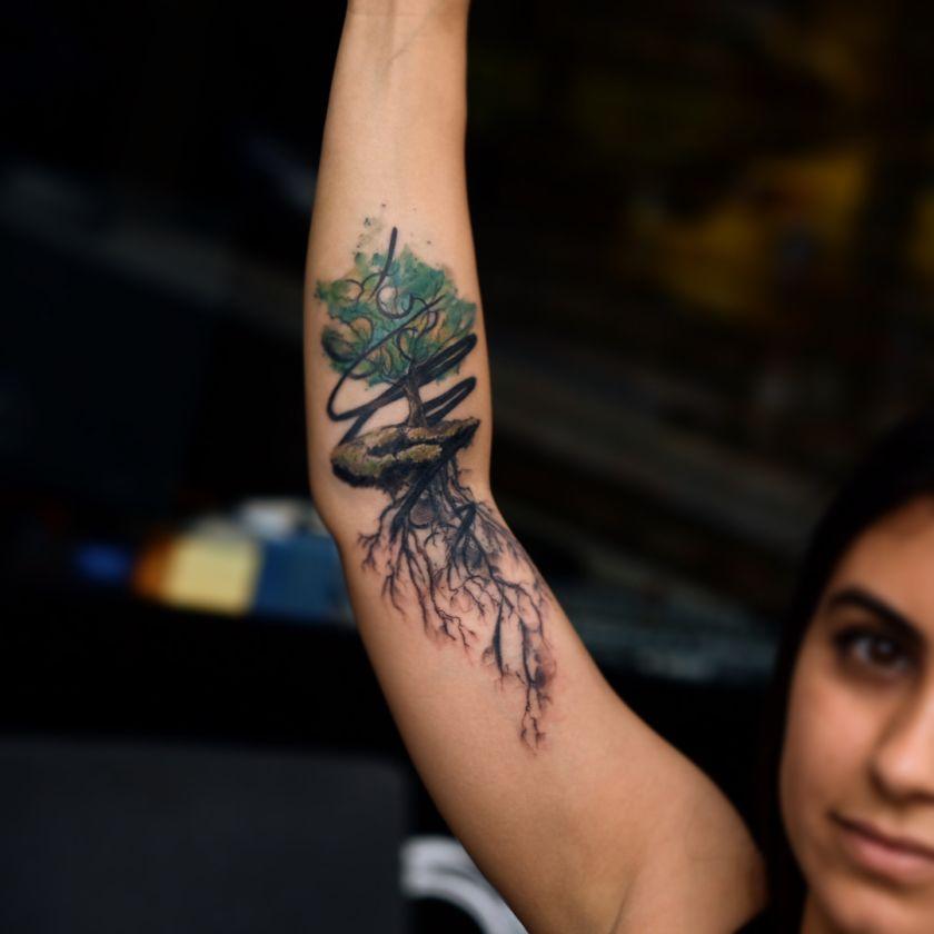 sketchy tattoo Tayfun Bezgin