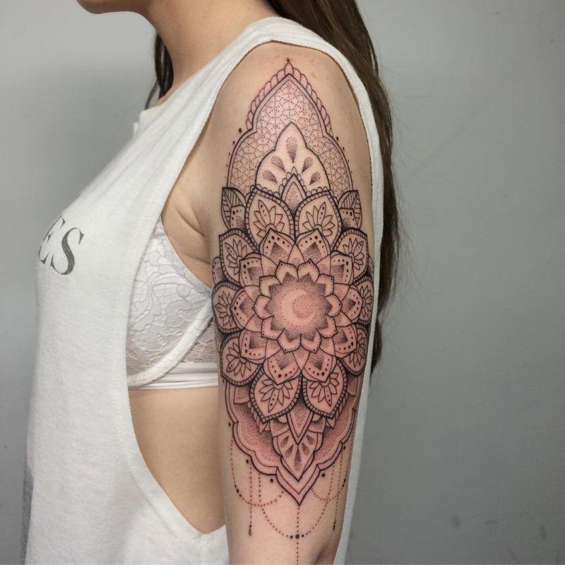 awesome mandala tattoos