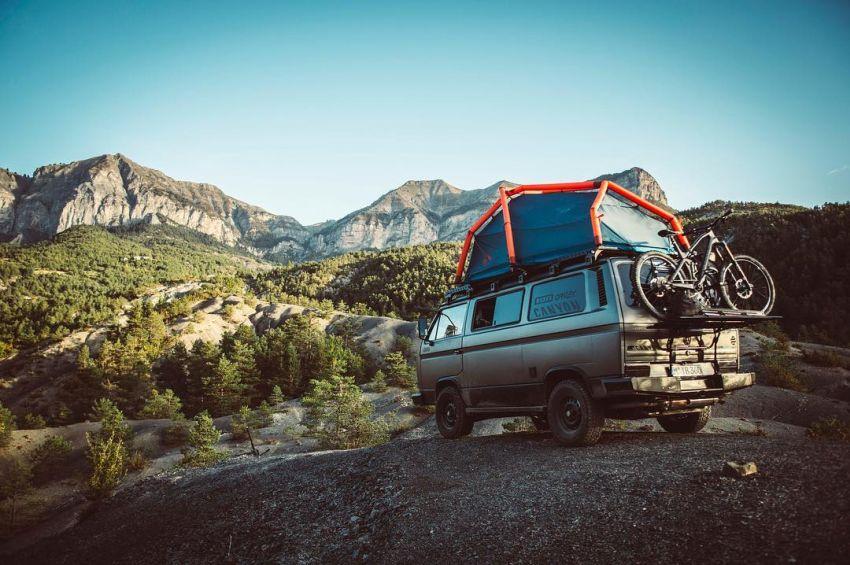 VW Van - classic adventure car