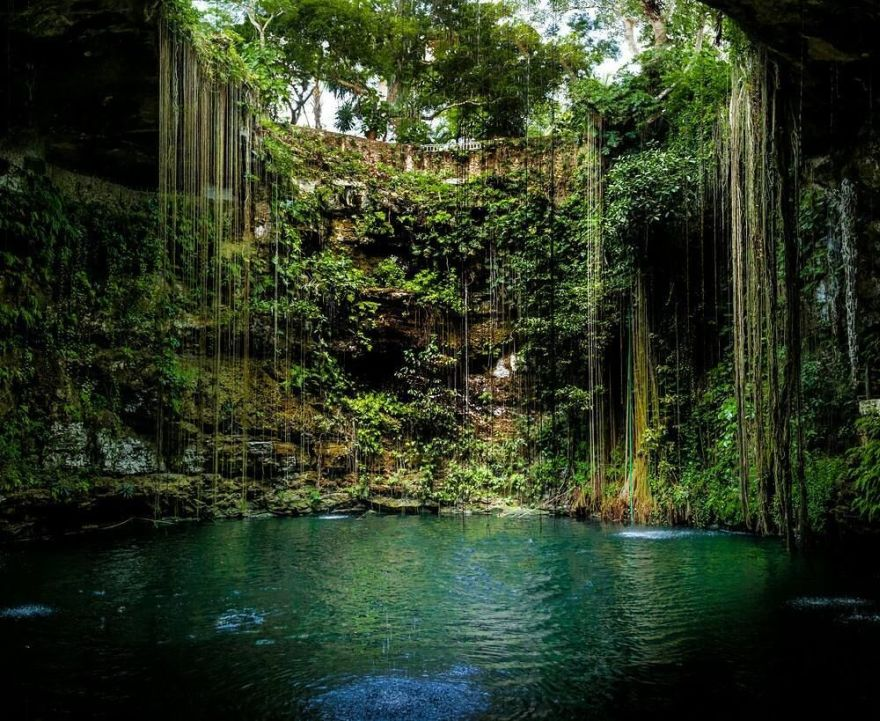 spectacular swimming hole