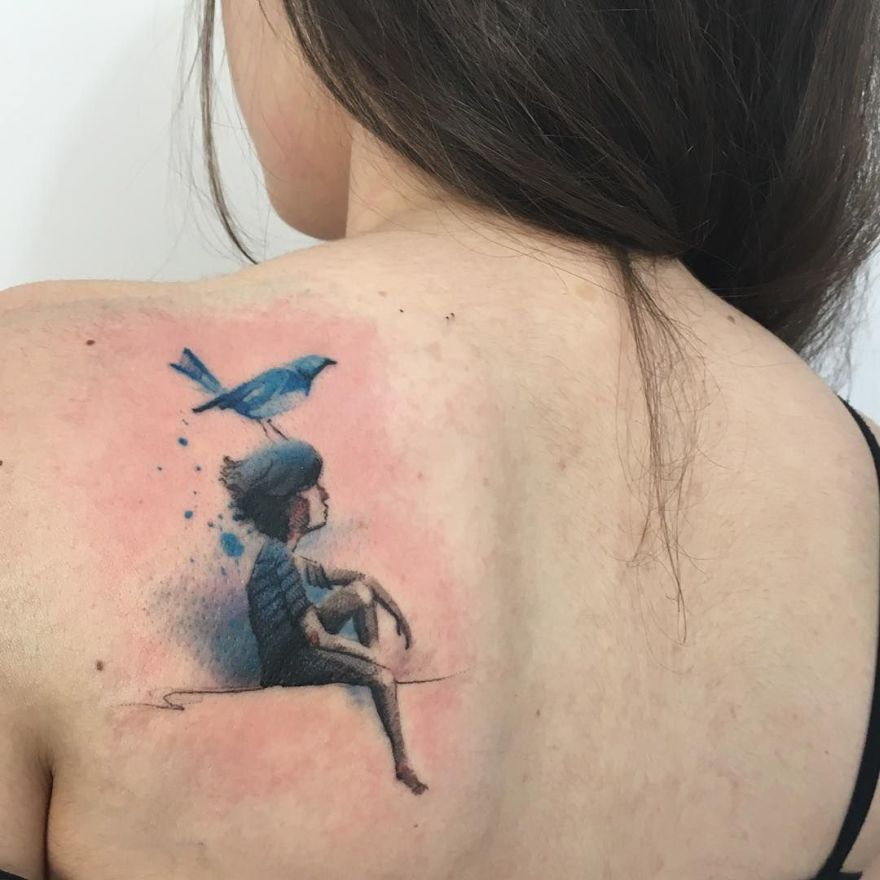 tattoo for book lovers