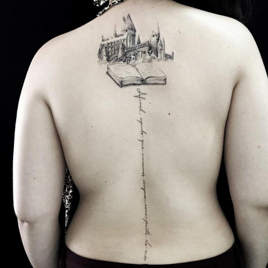 creative book tattoo ideas