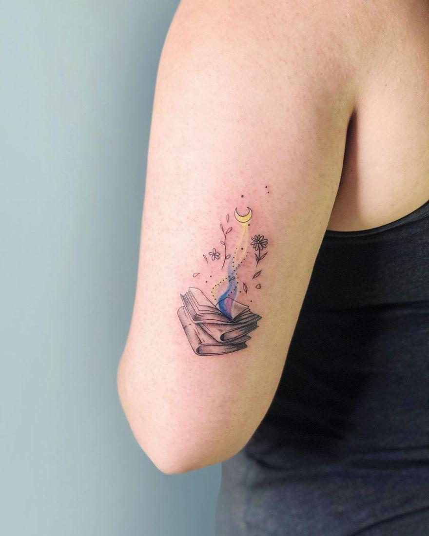 best book tattoo ideas