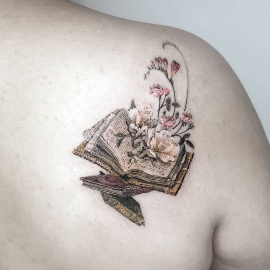 book tattoo ideasx