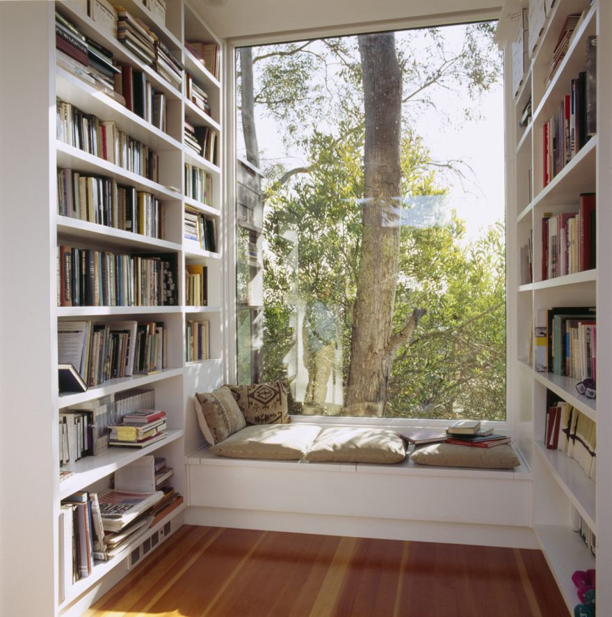 window seats the perfect reading nook