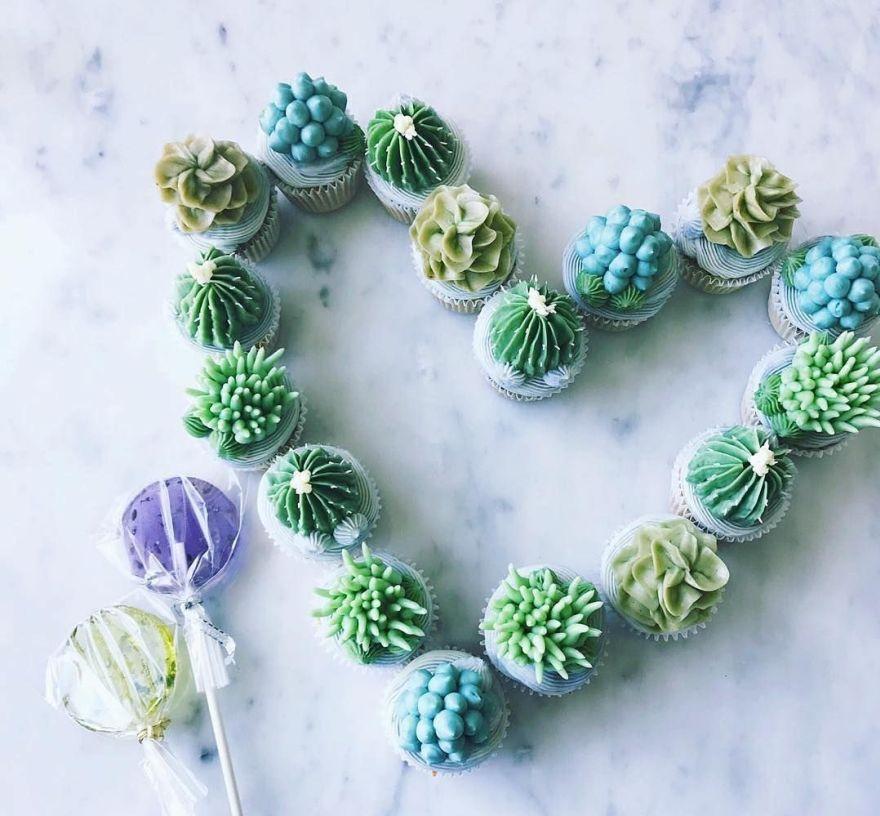 succulent dessert