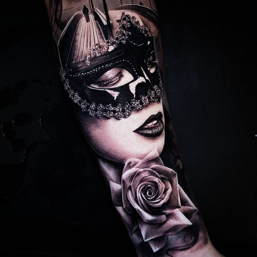 tattoo by Benji Roketlauncha
