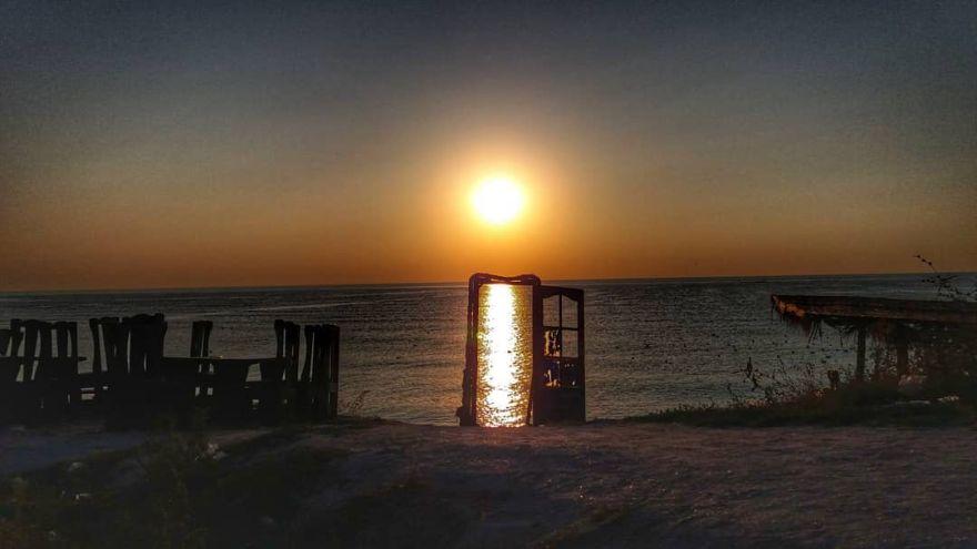 Sunrise in Vama Veche