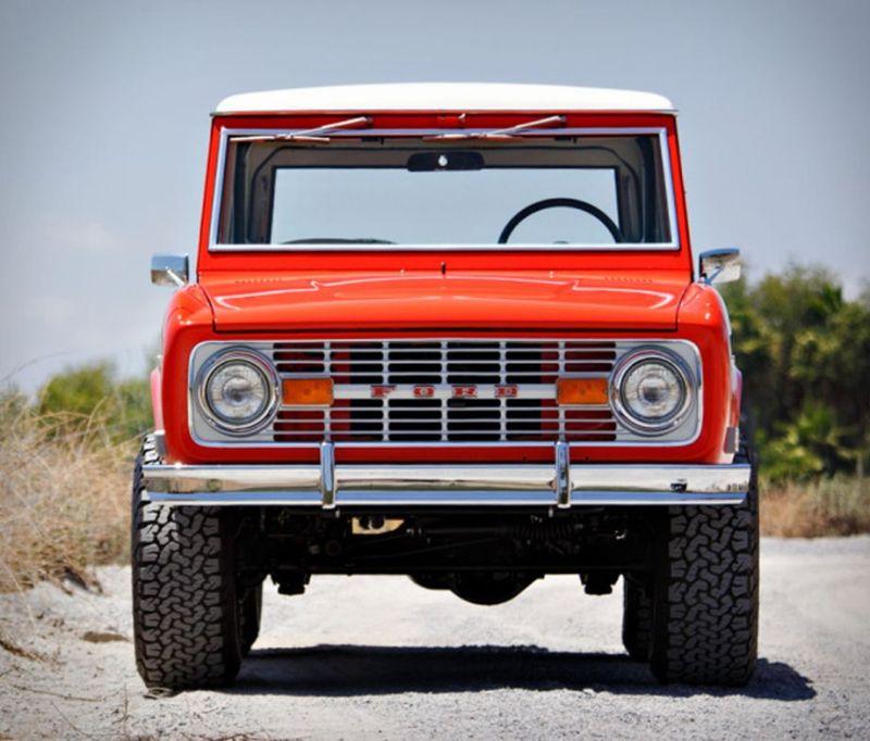 Restored 1969 Ford Bronco Hunter