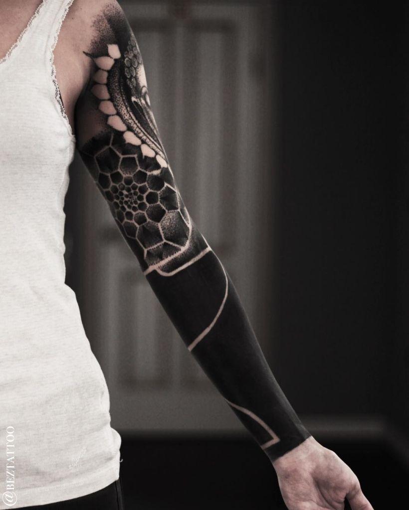 blackout tattoos