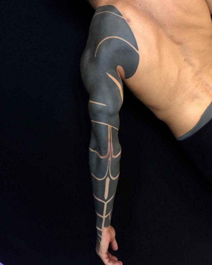 blackout tattoo ideas