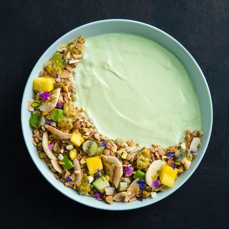 Avocado Yogurt Bowl