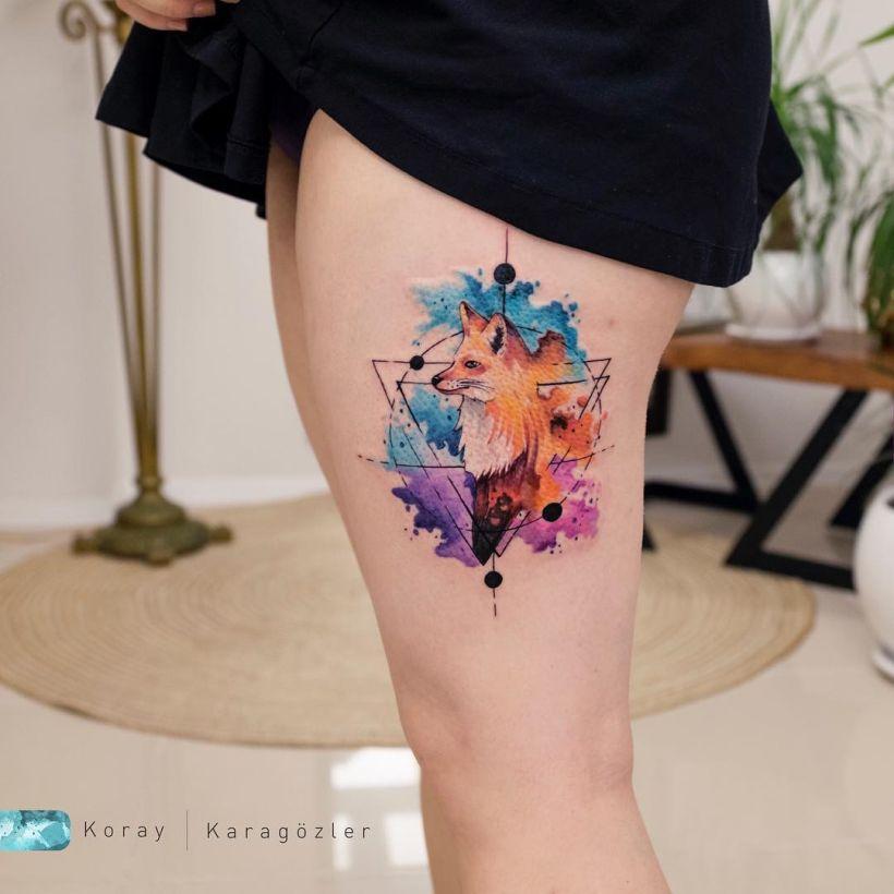 best watercolor tattoo ideas