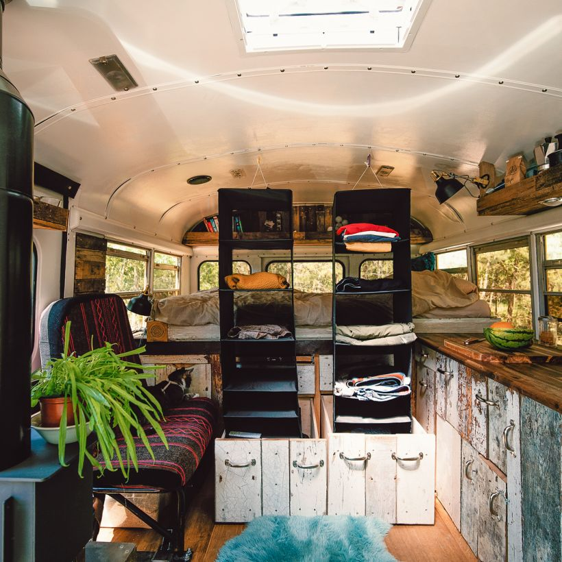 adventure van - converted school bus