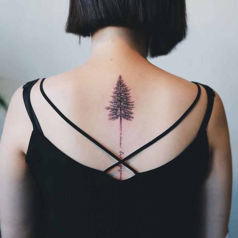 cool tree tattoos