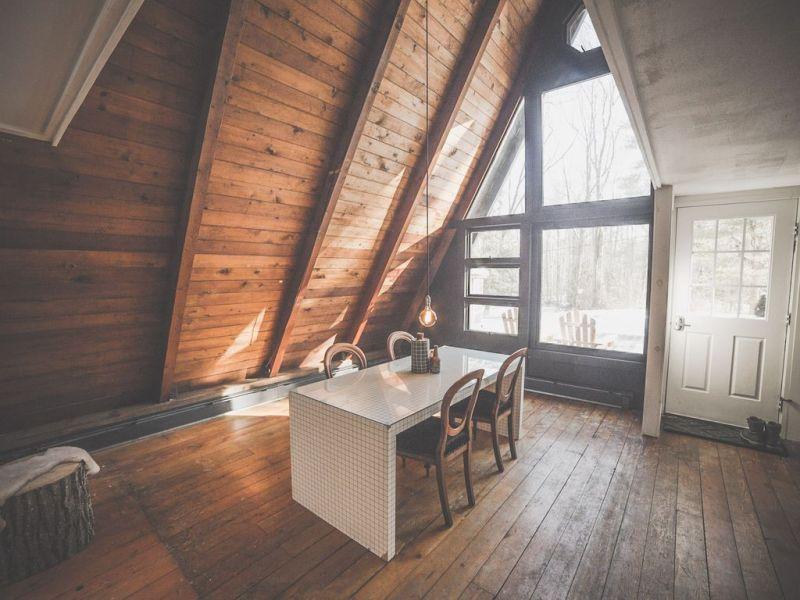 A-frame cabin Catskills